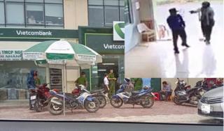 Vụ Trung úy công an nổ súng ở ngân hàng: Chuyển tội gây rối trật tự sang cướp tài sản