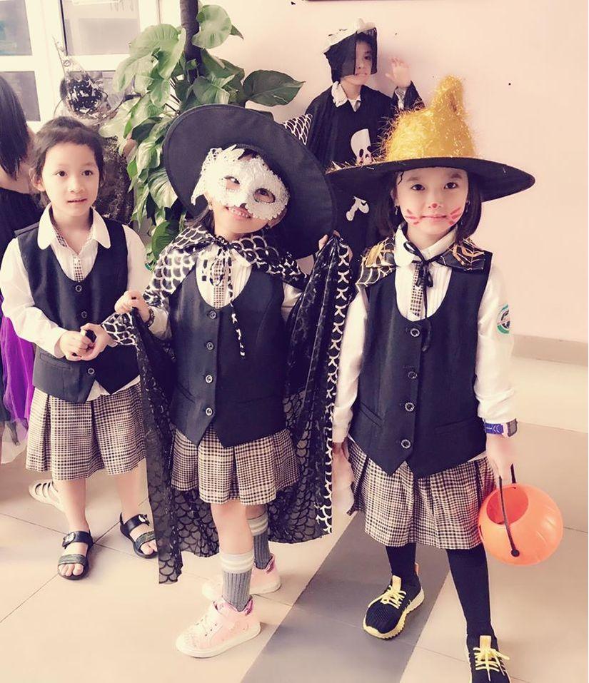 Loạt hình ảnh hóa trang siêu đáng yêu của các bé dịp Halloween 6