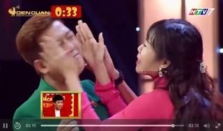 Trường Giang bị thí sinh tát liên tiếp trên sóng truyền hình
