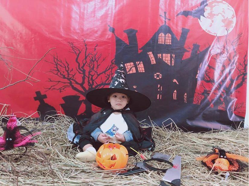 Loạt hình ảnh hóa trang siêu đáng yêu của các bé dịp Halloween 5