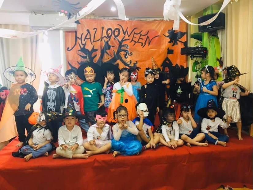 Loạt hình ảnh hóa trang siêu đáng yêu của các bé dịp Halloween 4