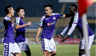 Chân sút bị thầy Park 'bỏ rơi' giúp Hà Nội FC đi vào lịch sử
