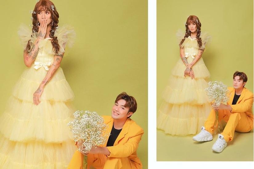 BB Trần và người yêu bất ngờ tung ảnh cưới, cô dâu xinh đến phát hờn