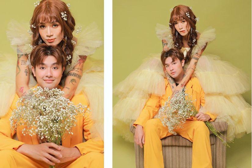 BB Trần và người yêu bất ngờ tung ảnh cưới, cô dâu xinh đến phát hờn3