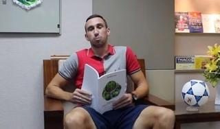 Trung vệ Damir Memovic: 'Văn Toàn hay nhất HAGL'