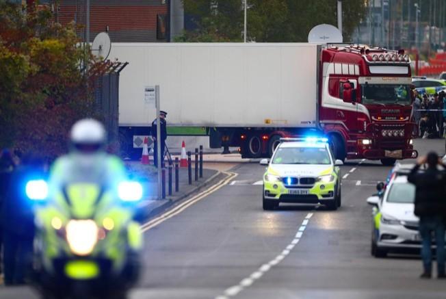 Vụ 39 người chết trong thùng container tại Anh: Có nạn nhân Việt