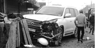 Danh tính tài xế xe Lexus biển ngũ quý 7 gây tai nạn chết người