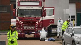 Đã xác định được danh tính 10 thi thể đầu tiên trong container ở Anh