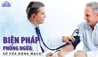 Xơ vữa động mạch: Biện pháp phòng ngừa
