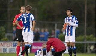 Văn Hậu đá chính, SC Heerenveen thua tan nát trước đội bóng ngang cơ