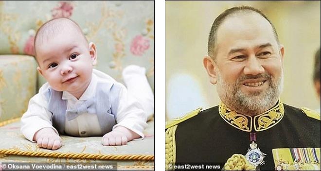 Người đẹp Nga tung ảnh con trai 'giống cha', cựu vương Malaysia nổi giận lên tiếng