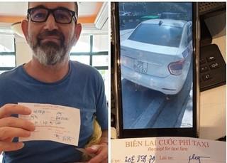 Phạt gần 15 triệu đồng tài xế taxi 'chặt chém' khách Tây