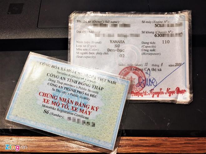 Xe mất giấy đăng kí vẫn được sang tên bình thường?