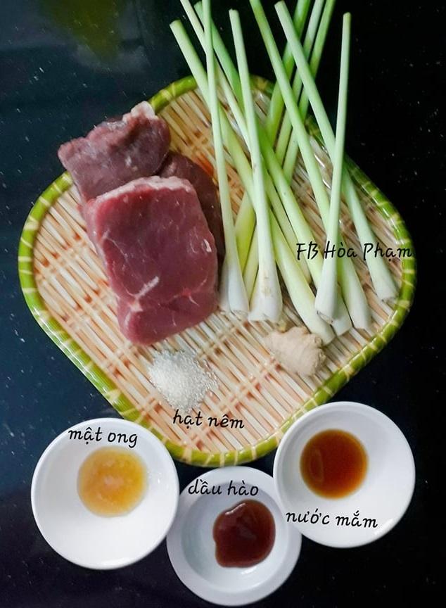 Học cách mẹ đảm làm thịt bò bọc sả chiên thơm lừng3
