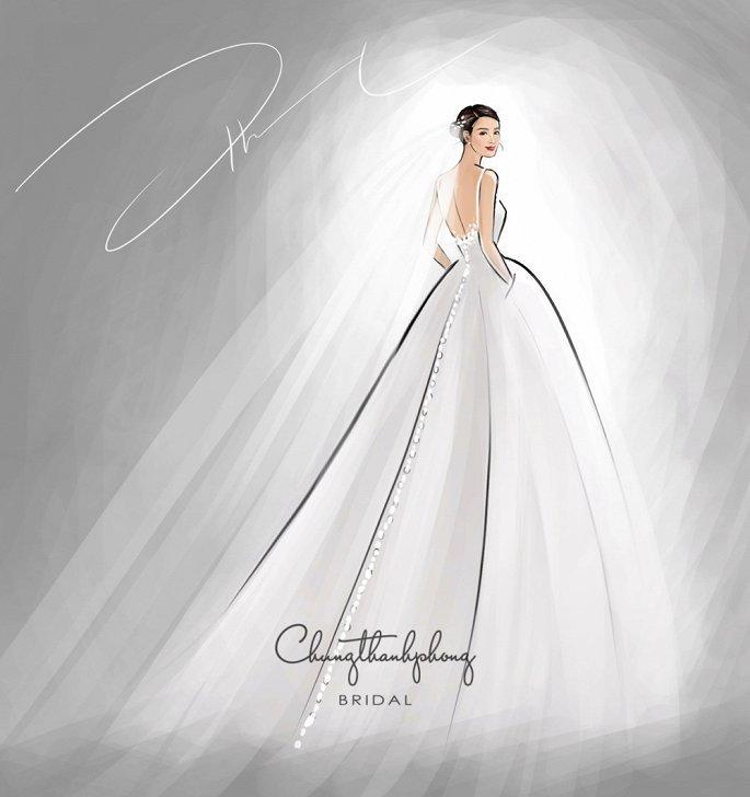 Đông Nhi sẽ thay 10 bộ váy cưới trong ngày cưới Ông Cao Thắng