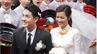 Khách mời mặc đồ đen, trắng và không quay phim chụp ảnh đám cưới Đông Nhi - Ông Cao Thắng