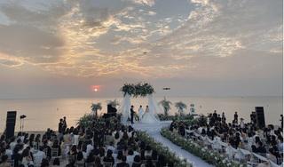 Đông Nhi và Ông Cao Thắng bật khóc trong ngày cưới