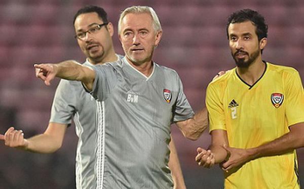 Đội tuyển UAE tập ở Thái thay vì Việt Nam