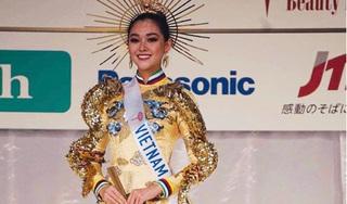 Tường San lọt Top 8 và giành giải Quốc phục đẹp nhất Hoa hậu Quốc tế 2019