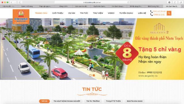 Dự án Golden Future City được ra bán rầm rộ trên website, mạng xã hội