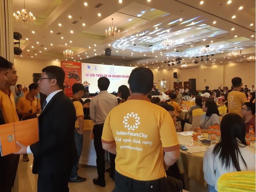 Chủ đầu tư và Kim Oanh Group giới thiệu Golden Future City để khách hàng mua khi chưa đủ điều kiện pháp lý