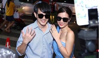 Đông Nhi, Ông Cao Thắng khoe nhẫn cưới với fan sau hôn lễ ấn tượng tại Phú Quốc