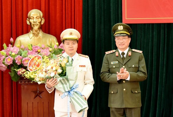 Bổ nhiệm GĐ, PGĐ Công an các tỉnh Thái Bình, Sơn La, Phú Thọ, Quảng Nam