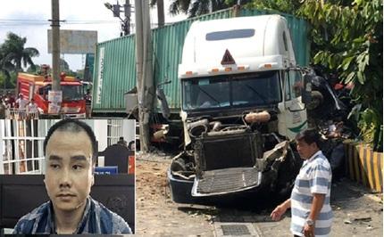 Tài xế container ngủ gật đâm chết 5 người bị tuyên phạt 14 năm tù