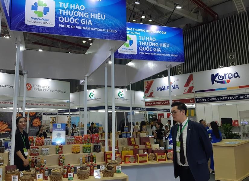 Tân Hiệp Phát tham gia gian hàng Thương hiệu quốc gia Việt Nam tại triển lãm Vietnam Foodexpo 2019