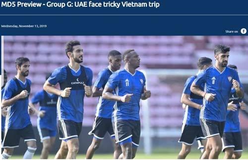 UAE sẽ gặp nhiều khó khăn trong việc tìm kiếm mảnh lưới Việt Nam
