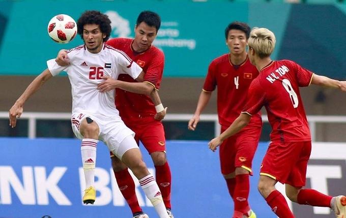 Trận Việt Nam -UAE tại Mỹ Đình được nhà cái uy tín châu Á AsianBookie đánh giá là cân bằng