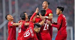 Tuyển Việt Nam tạo nên kỳ tích trên bảng xếp hạng FIFA sau chiến thắng UAE