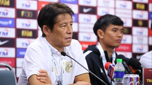 HLV Nishino quyết tâm hạ Việt Nam để đòi lại ngôi đầu bảng G