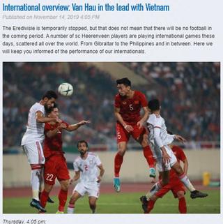 CLB của Văn Hậu ca ngợi tuyển Việt Nam sau chiến thắng 'chấn động' Châu Á