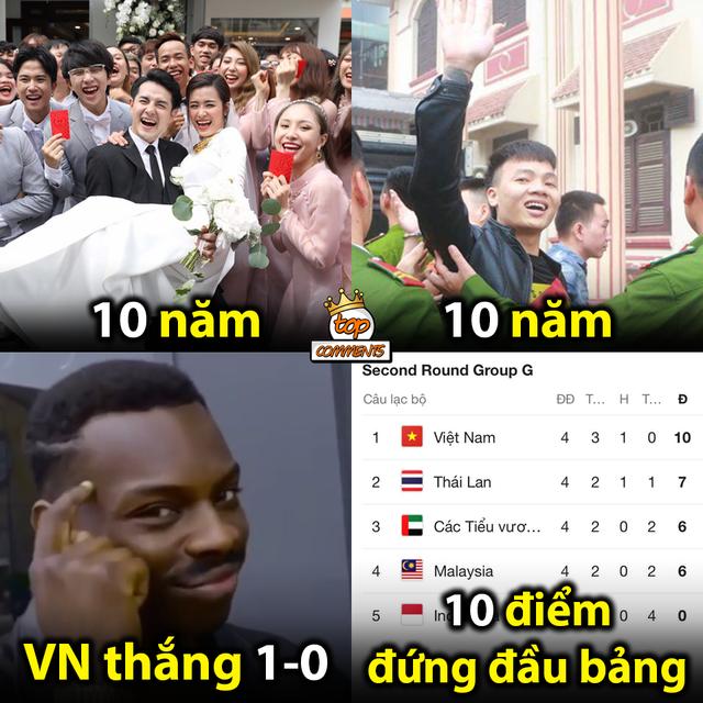 Loạt ảnh chế hài hước sau chiến thắng của tuyển Việt Nam7