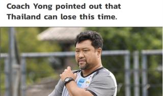 Thua ngược trước Malaysia, cựu HLV U23 Thái Lan đổ lỗi cho thời tiết