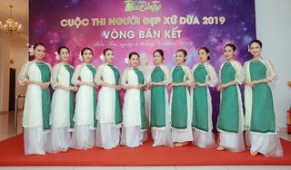 20 thí sinh vào chung kết Người đẹp xứ dừa năm 2019
