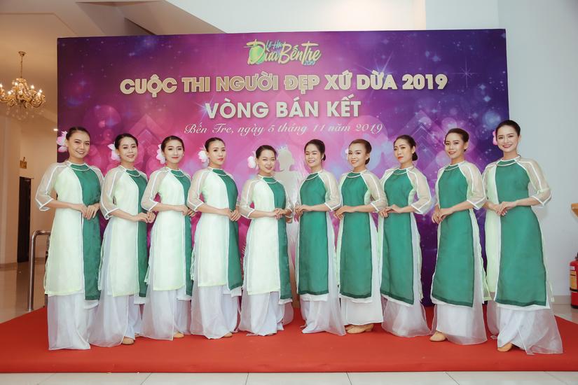 20 thí sinh chính thức bước vào chung kết Người đẹp xứ dừa năm 2019