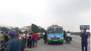 Phát hiện tài xế xe buýt tử vong bất thường trên ghế lái