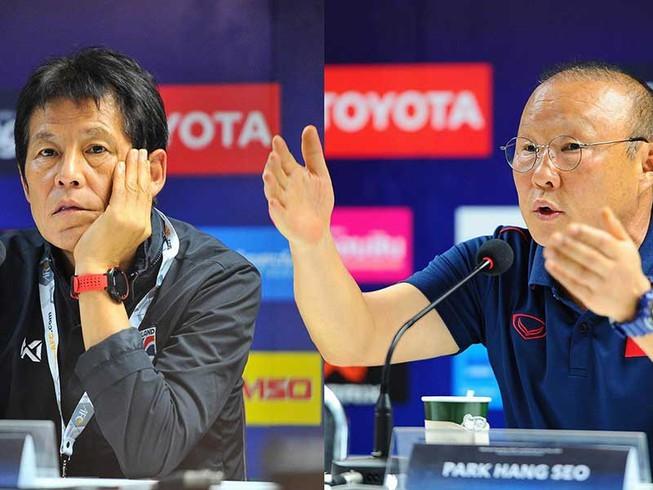 HLV Nishino tỏ ra thán phục với phong độ của đội tuyển Việt Nam trong thời gian
