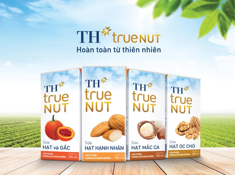 Sản phẩm mới xuất sắc của thế giới 2018 TH true NUT lọt TOP 10 thực phẩm được Tin & Dùng nhất Việt Nam 2019