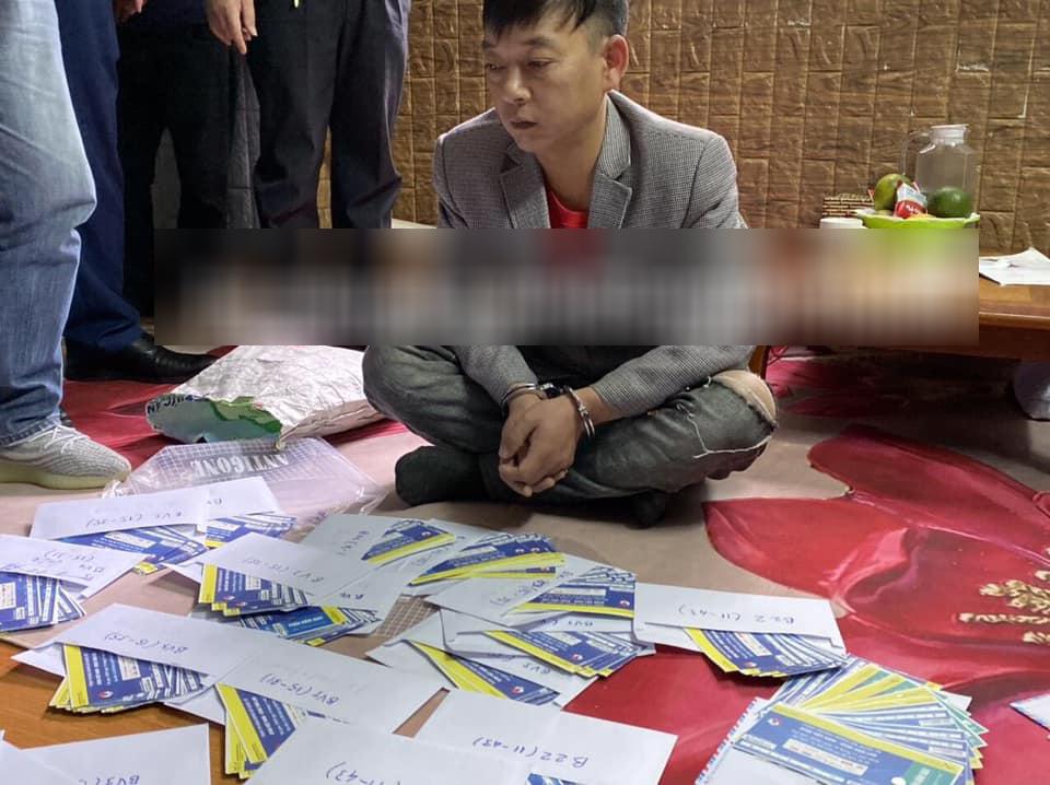 Thi giữ gần 1.000 vé bóng đá giả giữa ĐT Việt Nam - Thái Lan