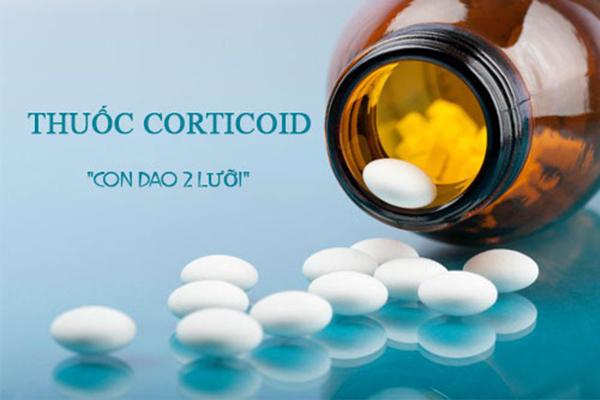chữa viêm khớp bằng thuốc corticoid