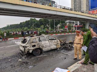 Đã xác định được danh tính nữ nạn nhân bị ô tô Mercedes tông tử vong