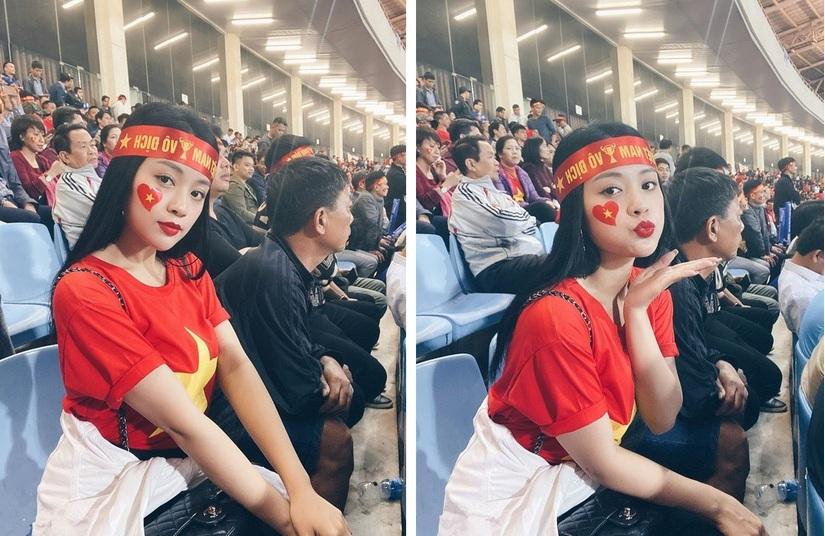 Cô gái xinh đẹp được Quang Hải gửi tặng vé trận Việt Nam Thái Lan