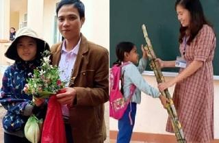 Rưng rưng những món quà tặng thầy cô ngày 20/11 của học sinh vùng cao