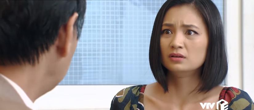 Hoa hồng trên ngực trái tập 32: Thái bị Hùng chơi khăm, Khuê xin nghỉ việc ở công ty Bảo