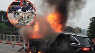 Vẫn chưa tìm được người nhà nữ nạn nhân bị Mercedes tông tử vong