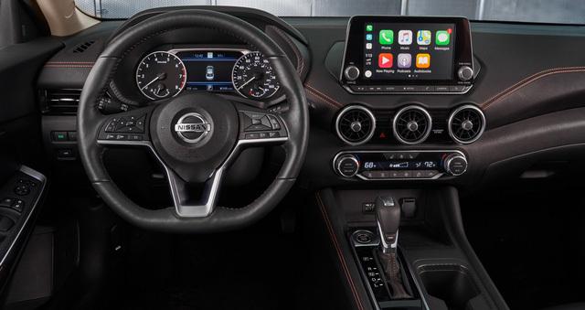 Lộ diện Nissan Sentra 2020 đẹp mê ly, tự tin đấu Honda Civic3
