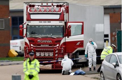 Bắt thêm một người đàn ông liên quan đến vụ 39 thi thể trong container